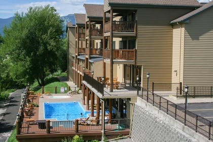 Pool | The Pine Lodge on Whitefish River, Ascend Hotel Collection