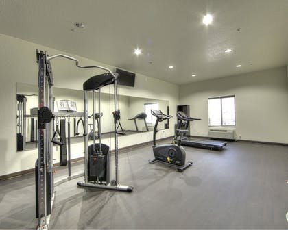 Fitness Facility | Comfort Inn & Suites Fort Worth West