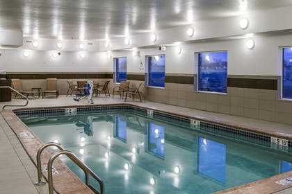 Pool | Holiday Inn Express & Suites Nevada