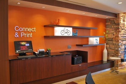 Business Center | Fairfield Inn & Suites Springfield Northampton/Amherst