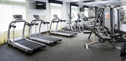 Fitness Facility | Holiday Inn Express & Suites Madison Central