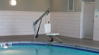 Indoor Pool | Holiday Inn Express & Suites Madison Central