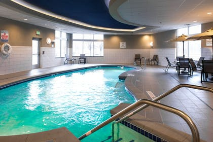 Pool | Holiday Inn Express & Suites Madison Central