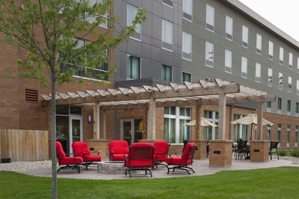 Terrace/Patio | Holiday Inn Express & Suites Madison Central