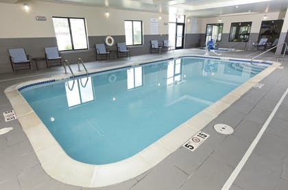 Pool | Holiday Inn Express & Suites Omaha South - Ralston Arena