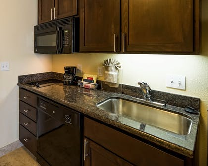 In-Room Kitchen | TownePlace Suites Seguin