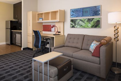 Living Area | TownePlace Suites Seguin