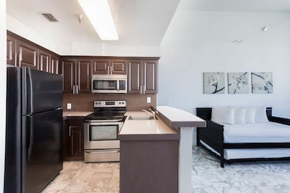 In-Room Kitchen | New Point Miami Beach Apartments