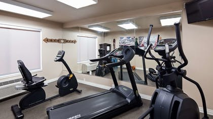 Fitness Facility | Best Western Roosevelt Place Hotel