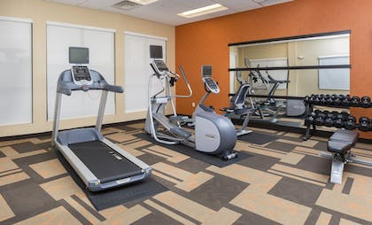 Fitness Facility | Courtyard by Marriott Bismarck North