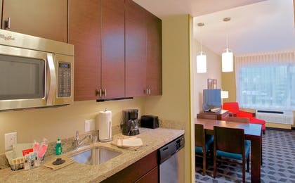 In-Room Kitchenette | Towneplace Suites Anchorage Midtown